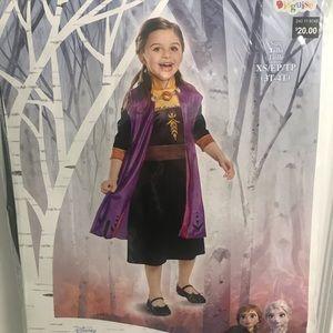 New frozen 2 Anna costume